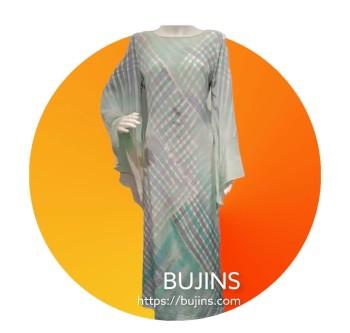 Premium Crepe Ladies Dress/Jubah - (S/M)