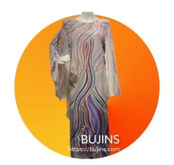 Premium Crepe Ladies Dress / Jubah - (S/M)