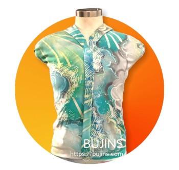 Bujins x Belantek. Cotton Fabrics Batik 2.45M - BUJINS