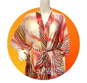 Premium Crepe Ladies Dress / Jubah - (S/M) - BUJINS