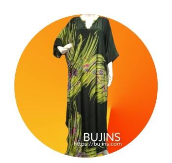 Premium Crepe Kaftan Ladies Batik Floral Design (L/XL)