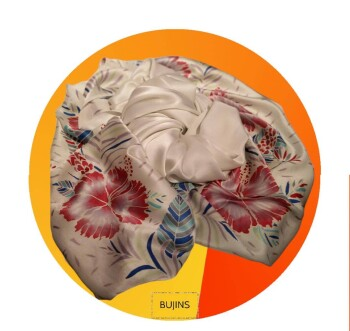 Satin Batik Shawl - 1.95M