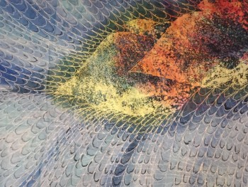 Chiffon Fabric Batik Jalinan Design 2.8M