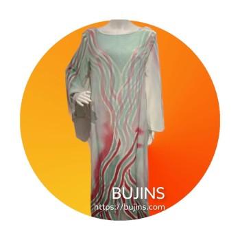 Premium Crepe Ladies Dress / Jubah - (M/L)