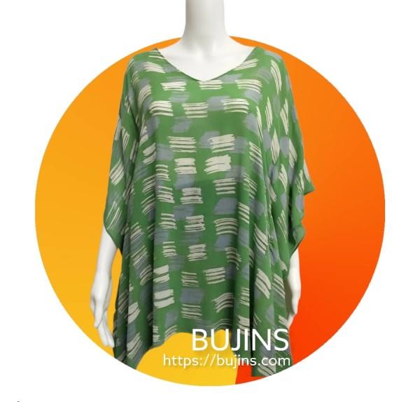 Chiffon Kaftan Ladies Batik (Free Size) - BUJINS