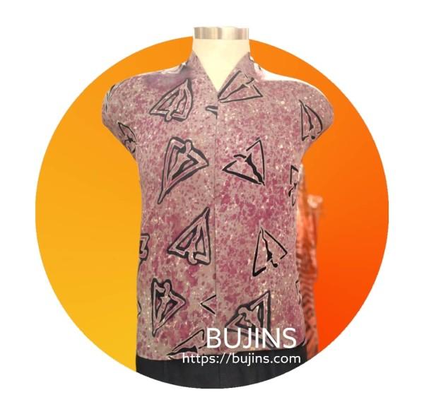 Bujins Cotton Fabric Batik Pendekar Design 2.45M - BUJINS