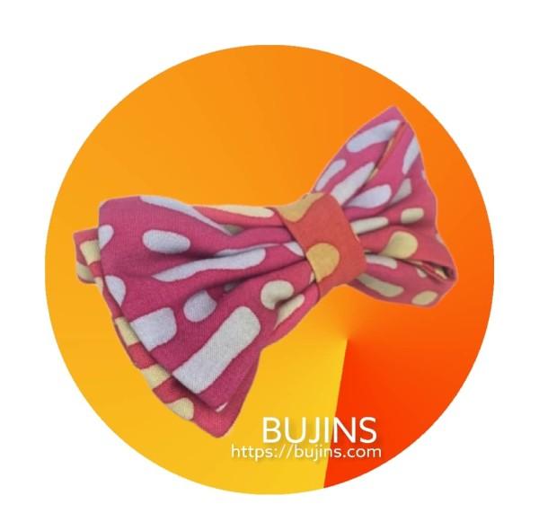 Cotton Batik Bow Tie - Leonardo - BUJINS