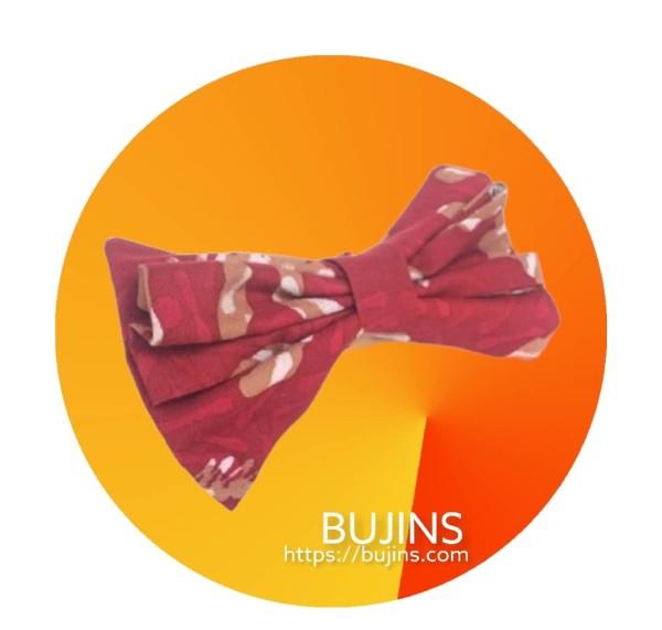 Cotton Batik Bow Tie - Van Gogh - BUJINS