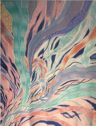 Mimpi 1 Premium Satin Batik Painting 1.13M x 1.28M - BUJINS
