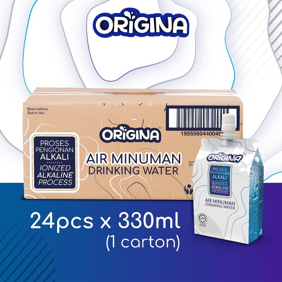 ORIGINA ALKALINE WATER (24pcs x 330ml)