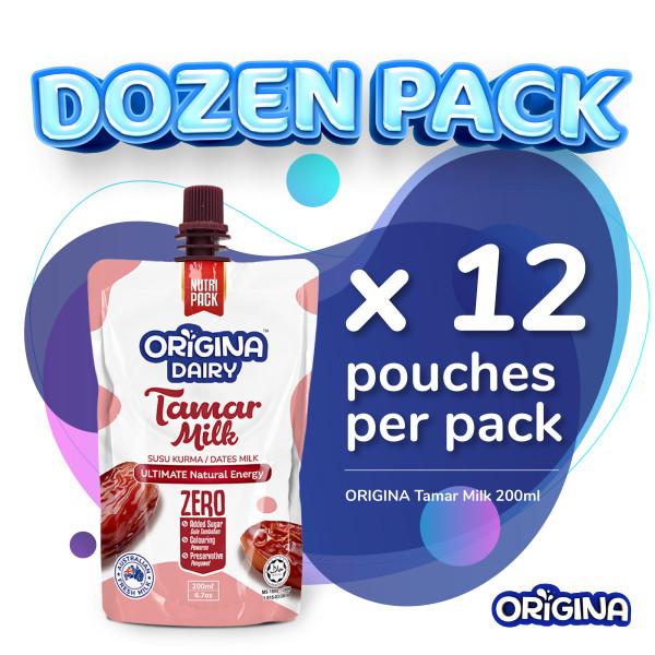 ORIGINA TAMAR MILK 200ml (12 pcs/ packs) - ORIGINA