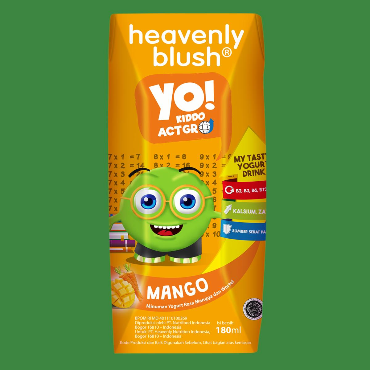Heavenly Blush YO Mango Carrot