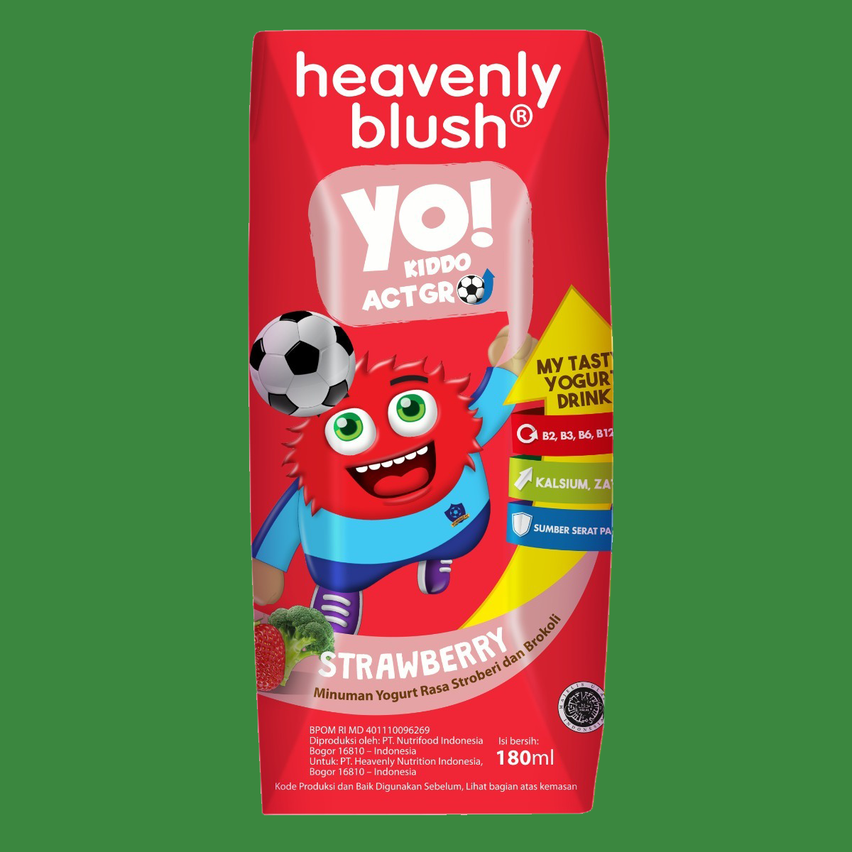 Heavenly Blush YO Strawberry Broccoli