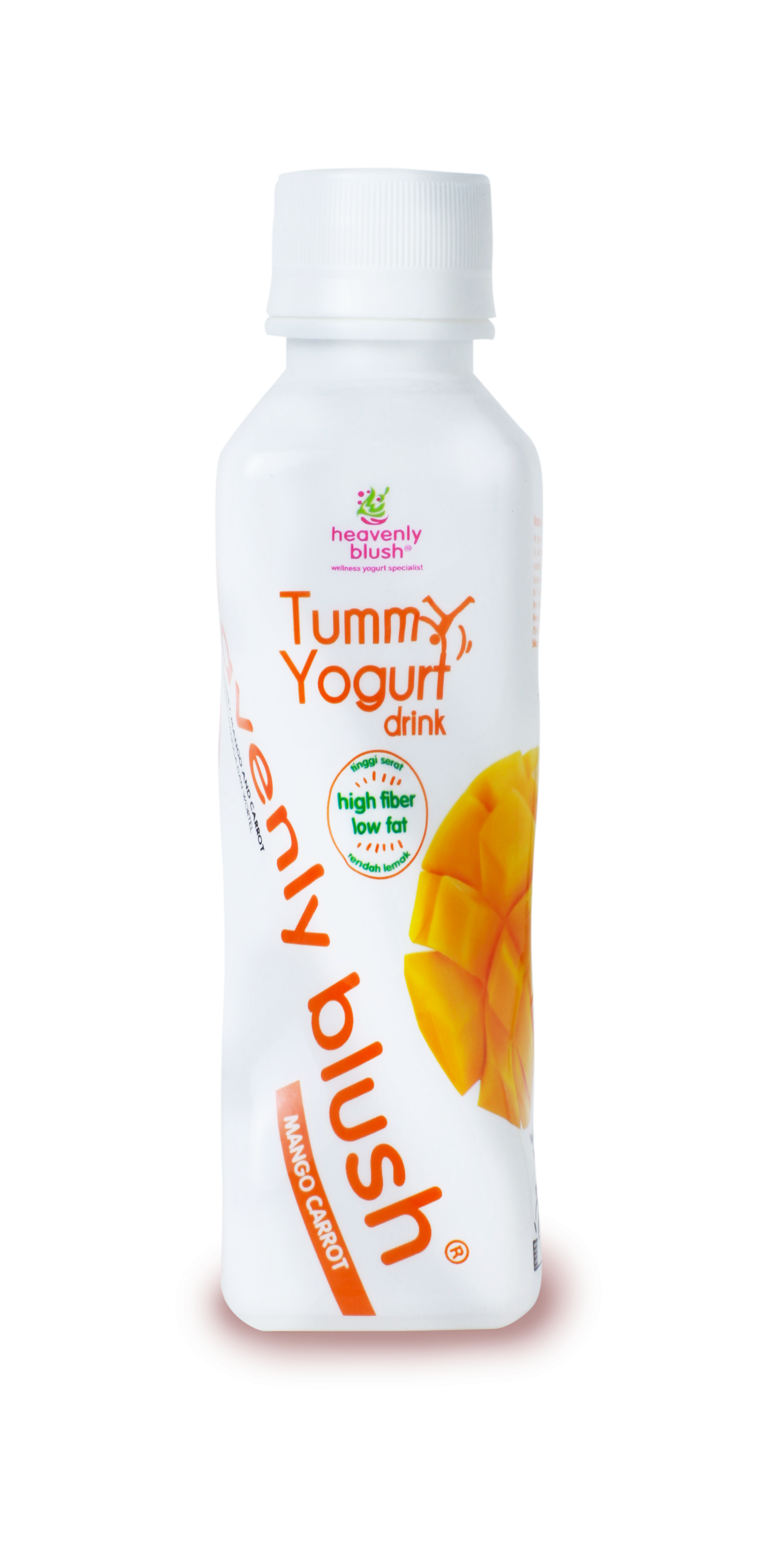Heavenly Blush Tummy Yogurt Drink Mango Carrot