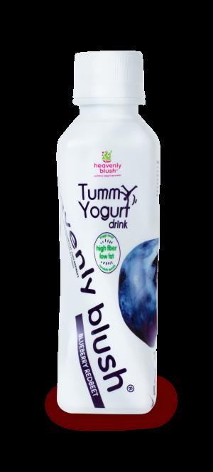 Heavenly Blush Tummy Yogurt Drink Blueberry Redbeet
