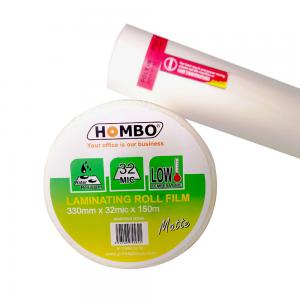 Hombo Plastik Laminating Roll Matte 330mm x 32mic x 150m