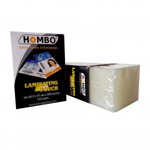 Hombo Plastik Laminating KTP - 250 Micron