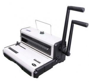 Topas TD 200 Mesin Jilid Spiral Kawat Lubang Kotak - Toko Online Mesin Jilid, Laminating, Pemotong kertas