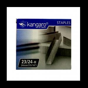 Isi Staples Kangaro 23/24 - Toko Online Mesin Jilid, Laminating, Pemotong kertas