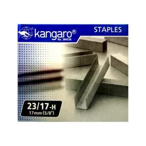 Isi Staples Kangaro 23/17 - Toko Online Mesin Jilid, Laminating, Pemotong kertas