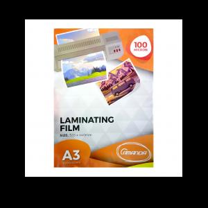 Amanda Plastik Laminating A3 - 100 Micron - Toko Online Mesin Jilid, Laminating, Pemotong kertas