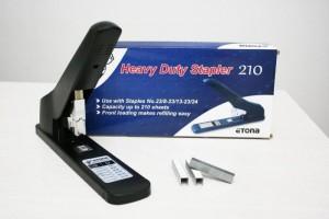 Stapler Etona Heavy Duty 210 - Alat Staples Jilid 210 lembar - Toko Online Mesin Jilid, Laminating, Pemotong kertas