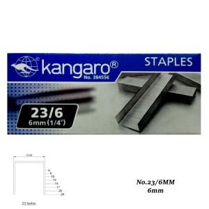 Isi Staples Kangaro 23/6 - Toko Online Mesin Jilid, Laminating, Pemotong kertas