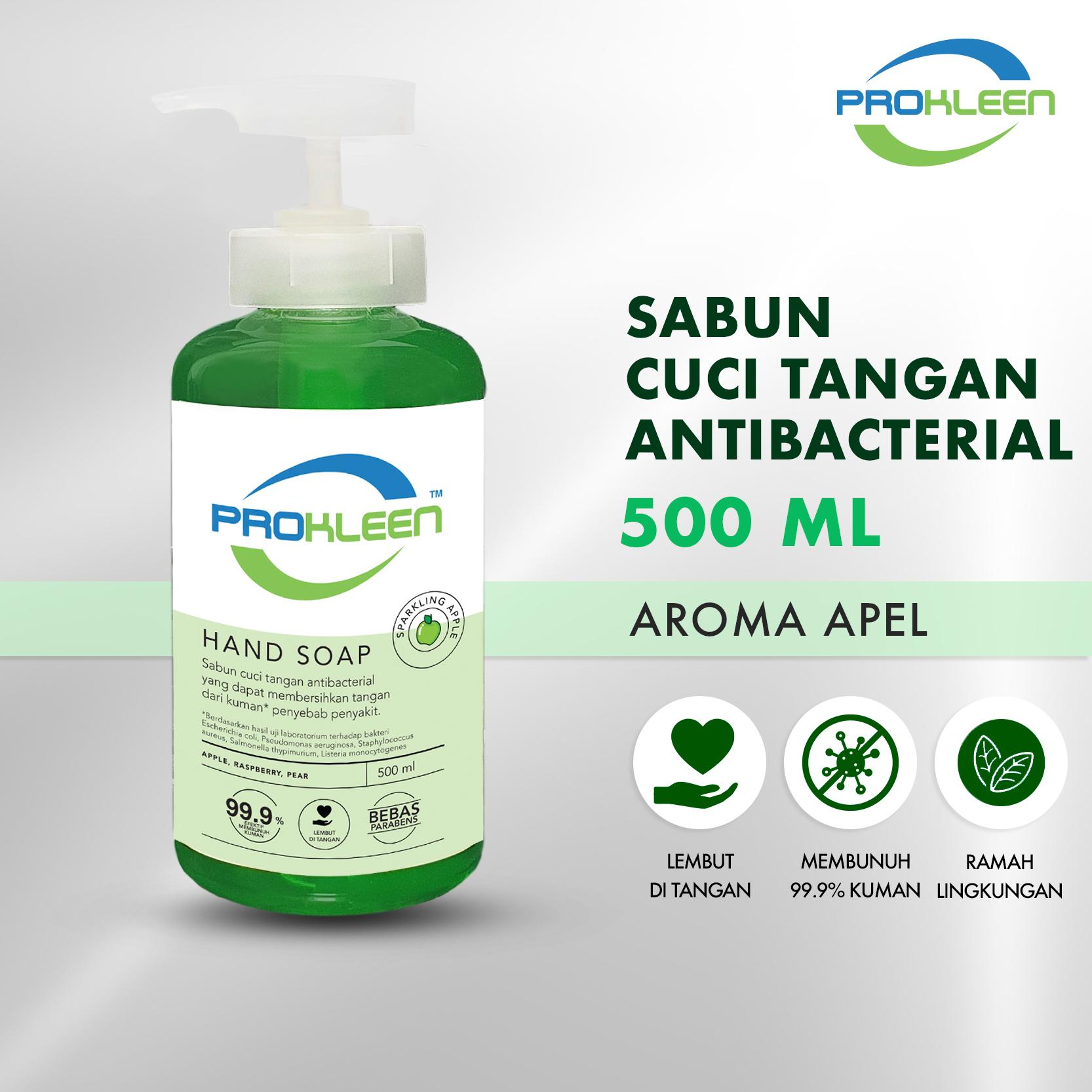 Sabun Cuci Tangan Pump Antibacterial Hand Soap  PREMIUM 500mL