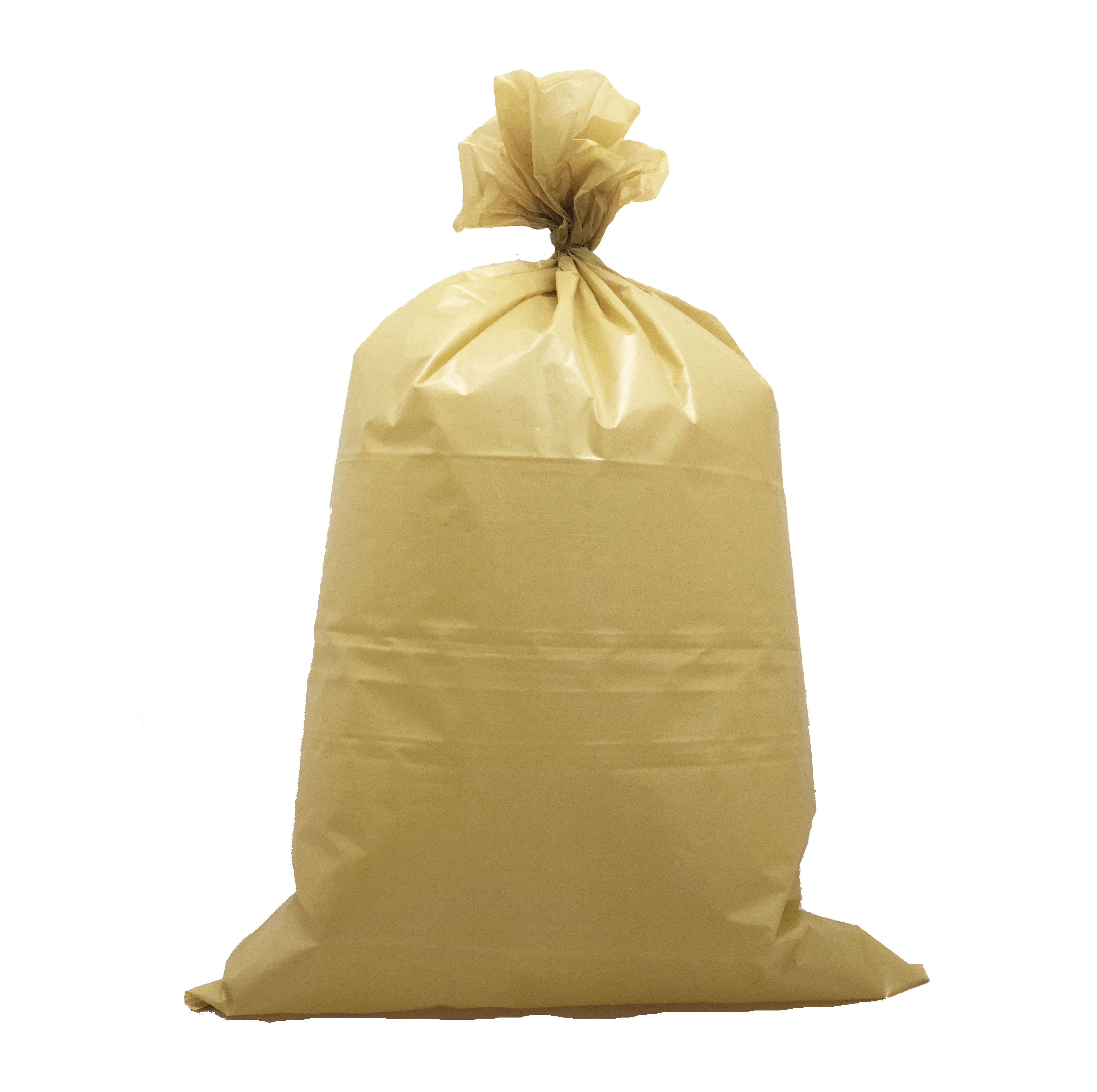 Plastik Sampah KUNING / Trash Bag TEBAL BERKUALITAS 50micron
