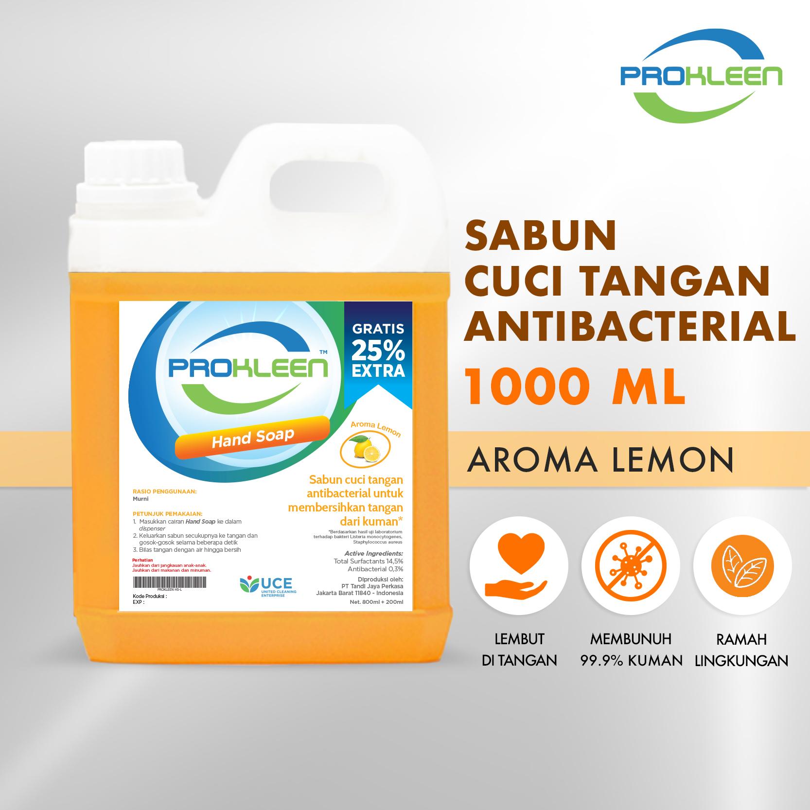 Sabun Cuci Tangan HAND SOAP PROKLEEN 1000mL
