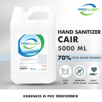 Hand Sanitizer CAIR 70% Antiseptic Aseptic PROKLEEN 5L