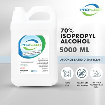 70% Isopropyl Alkohol Antiseptik Sanitizer Disinfectant 5L