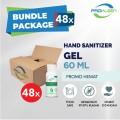 [BUNDLE] Hand Sanitizer GEL 70% Food Grade PROKLEEN 60mL - 48pcs - United Cleaning Enterprise