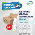 [BUNDLE] All in One Air Disinfectant Food Grade 280mL - 24pcs - United Cleaning Enterprise