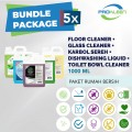 [BUNDLE] Floor + Glass + Toilet Bowl + Karbol + Dishwashing 1L - United Cleaning Enterprise
