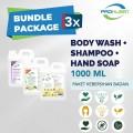 [BUNDLE] Body Wash+Shampoo+Hand Soap l 800mL+25% - 1pc - United Cleaning Enterprise