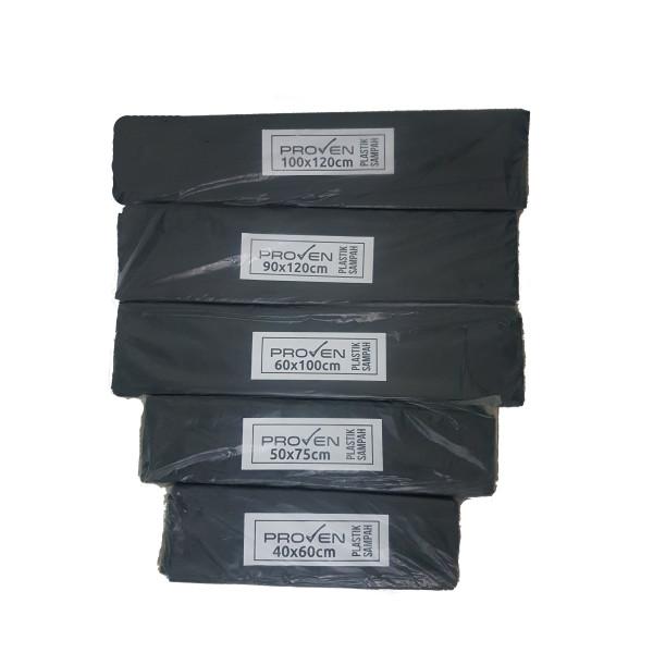 Plastik Sampah / Trash Bag TEBAL BERKUALITAS 50micron - United Cleaning Enterprise