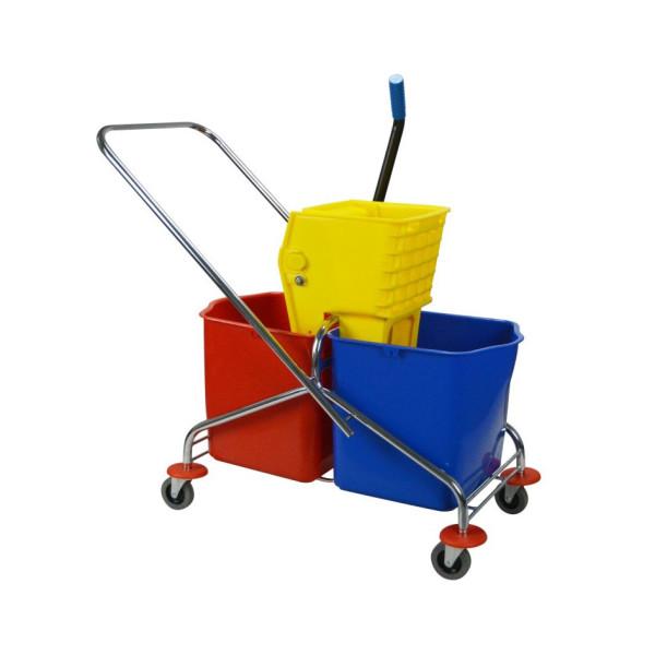 Double Bucket Trolley 46LA - United Cleaning Enterprise