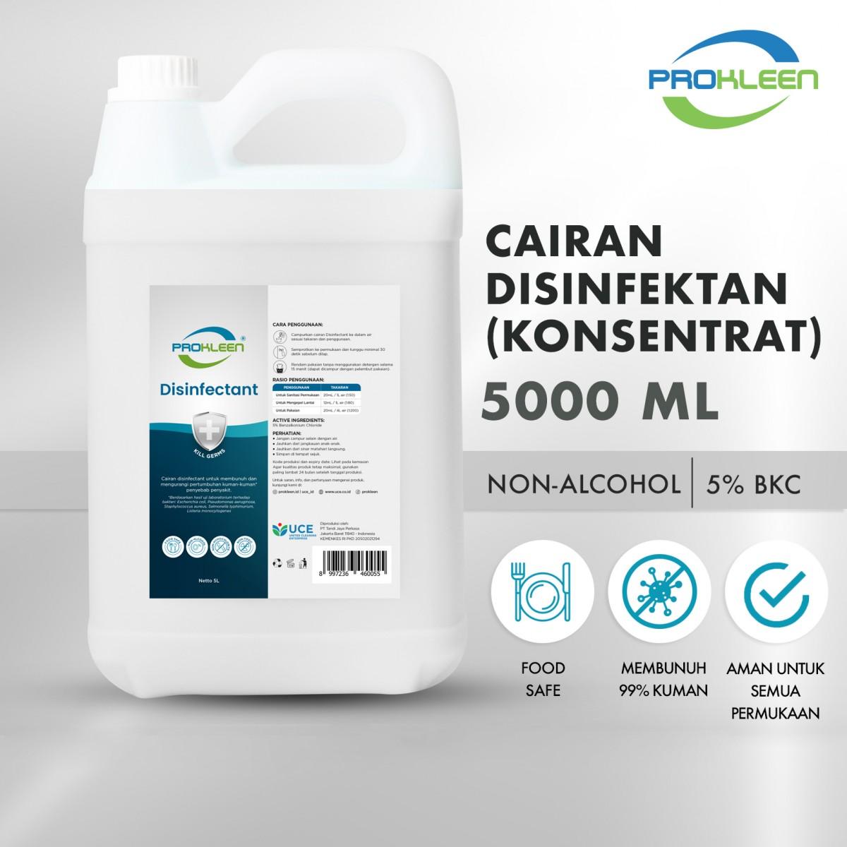 Disinfectant Konsentrat PROKLEEN 5 Liter - United Cleaning Enterprise