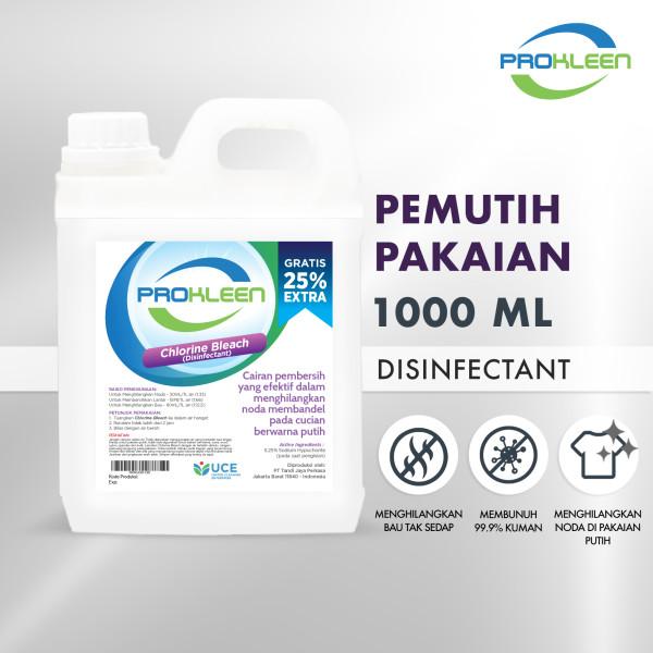 Pemutih Pakaian PREMIUM PROKLEEN Bay Clin 1000mL - United Cleaning Enterprise