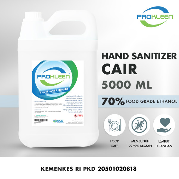 Hand Sanitizer CAIR 70% Antiseptic Aseptic PROKLEEN 5L - United Cleaning Enterprise