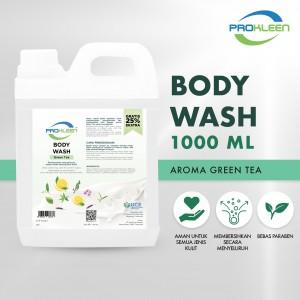 Sabun Mandi BODY WASH GREEN TEA PREMIUM PROKLEEN 1000ml - United Cleaning Enterprise