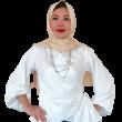 Camalia Wrap Blouse  - Iman Raudah Official