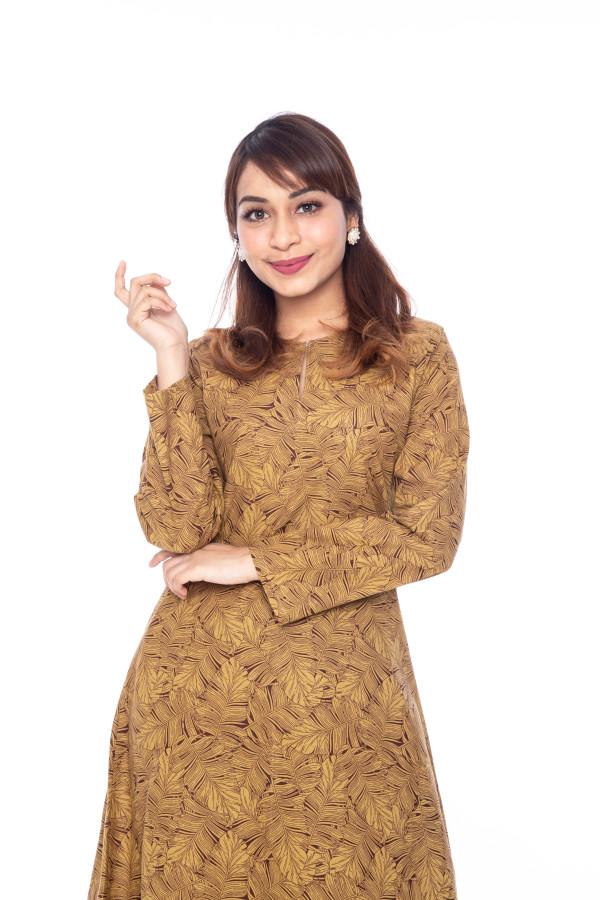 Gold Melur Kurung - Iman Raudah Official