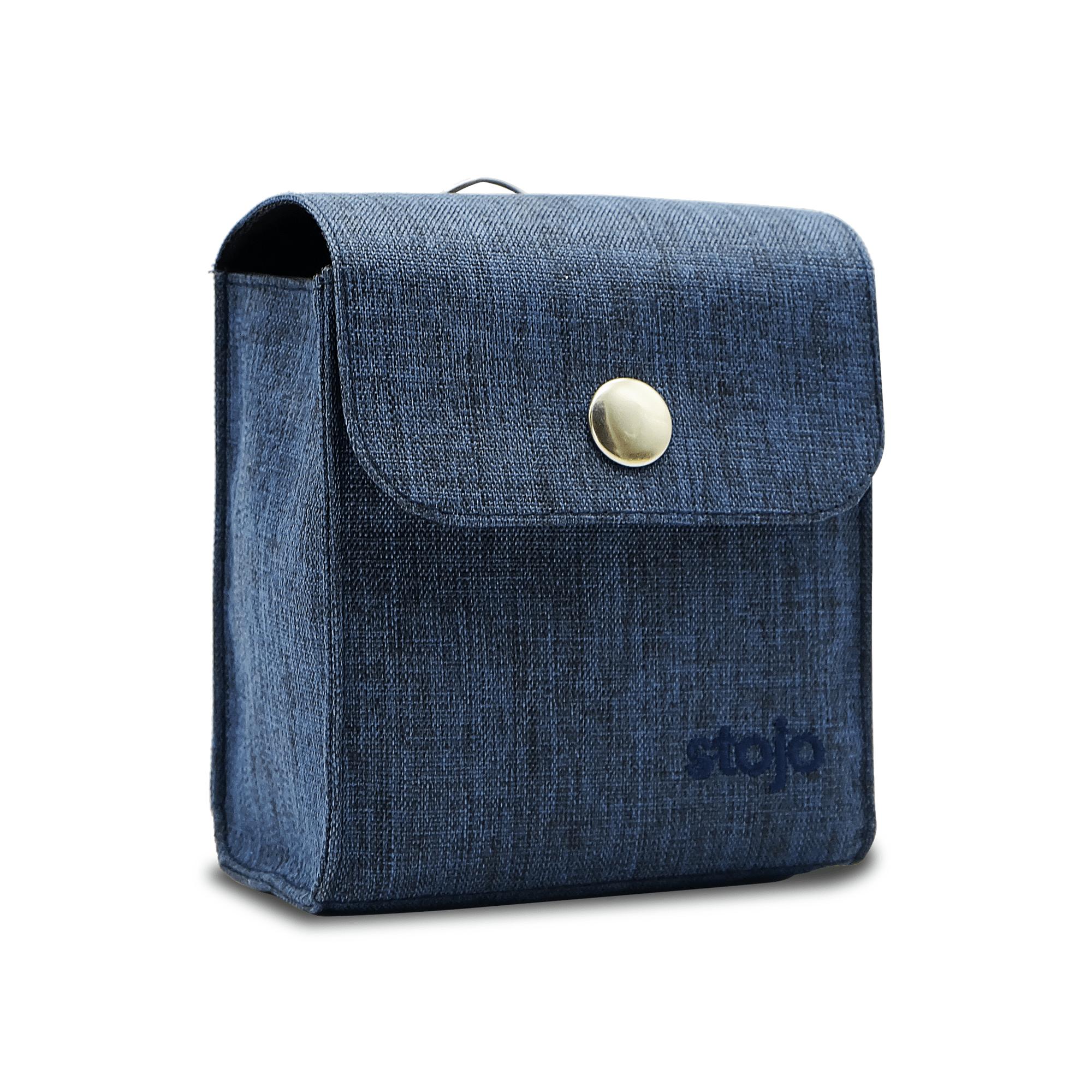 Stojo Compact Pouch - Denim Blue