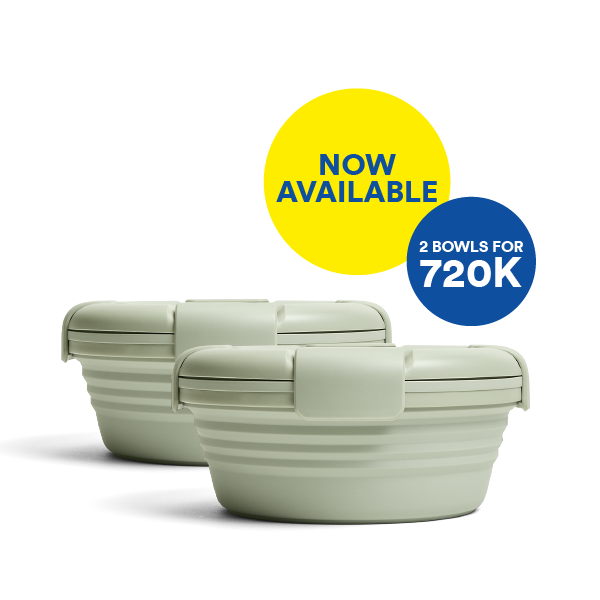 Good things come in pairs. Bundle & Save for Sage Bowl