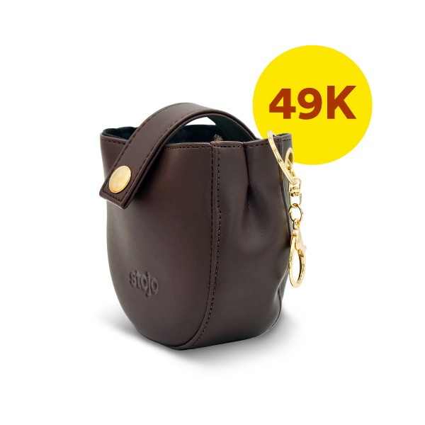 Stojo Pocket Pouch - Leather - Only IDR 49,900 each