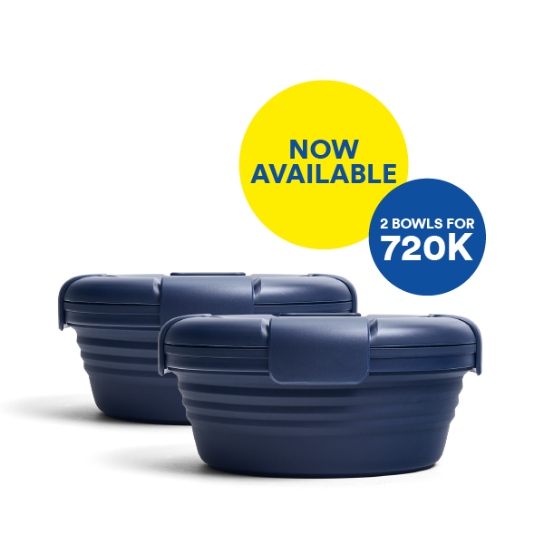Good things come in pairs. Bundle & Save for Denim Bowl