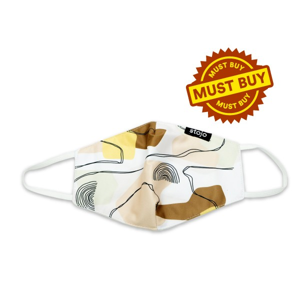 Stojo Must Buy Item - Mask Choco - Only IDR 9,900 each