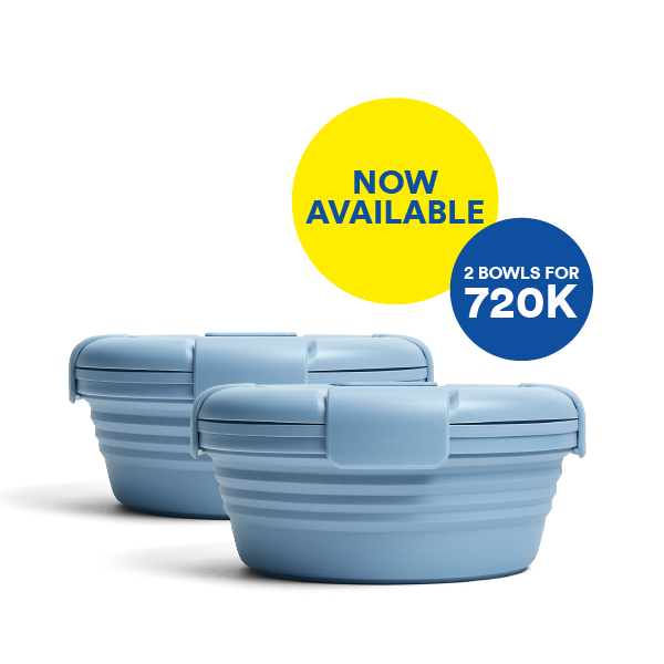 Good things come in pairs. Bundle & Save for Steel Bowl